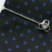 Biohazard Tie Clip Sterling Silver handcrafted