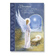 Abbey Press 15108T Angel at Manger Christmas Cards