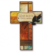 Abbey Press 55423T God Bless This Man Cross