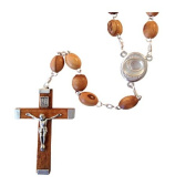 Olive Wood Rosary With Water from the River Jordan