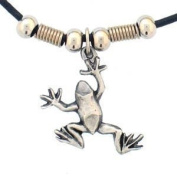 Earth Spirit Necklace - Frog - Earth Spirit Necklace