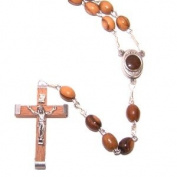 Olive Wood Rosary with Soil From Bethlehem