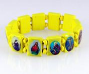 4030461 Wood Holy Saints and Icons Christian Jesus Christ Stretch Bracelet Catholic