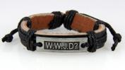 4030535 WWJD What Would Jesus Do Christian Leather Bracelet Scripture Jesus Bible Religious Cross