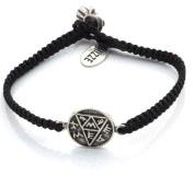 Pregnancy Amulet Hand Woven Bracelet for Women in Black