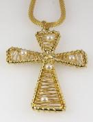 6030101 Christian Cross Necklace Religious Jewellery Pendant