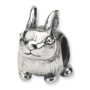 Sterling Silver Bunny Bead