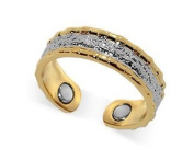 Two Tone Magnetic Band Fits Ring Size 7 & up