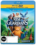 Rise of the Guardians 3D [BLU 3D] [Region 4] [Blu-ray]