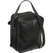 Royce Leather Vaquetta Men's Bag in Black