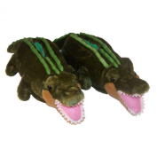 Comfy Feet Alligator Animal Feet Youth Slippers