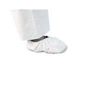 Kimberly-Clark KleenGuard A20 Breathable Particle Protection Foot Covers - white kleenguard shoe cover universal s