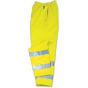 Ergodyne 150-24423 Glowear 8915 Class E Hi-Vis Rain Pants Lime Med