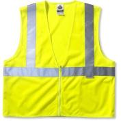 Ergodyne GloWear 8220Z Small/Medium Class-2 Standard Vest in Lime