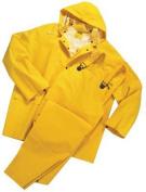 Anchor Brand 101-9000-S Anchor 35 Mil 3 Piece Rain Suit Pvc- Polyester