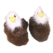 Comfy Feet Eagle Animal Feet Youth Slippers
