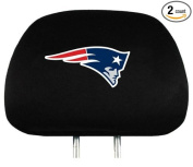 Caseys Distributing 8162092188 New England Patriots Headrest Covers