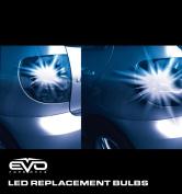 CIPA 1157 Blue LED Replacement Bulb