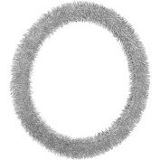 Bell Shiny Shaggy Steering Wheel Cover, Silver