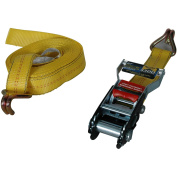 Highland Super Duty Secure-It Ratchet Tie Down, Yellow