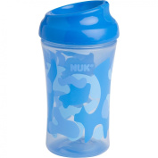 Gerber Graduates - 300ml Learning System Cup, Hard Spout, Boy Camo, BPA-Free, 4pc