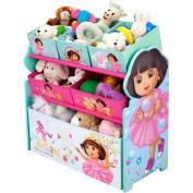 Dora the Explorer - Multi-Bin Toy Organiser