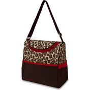 Gerber Leopard Cooler Bag, Brown/Red
