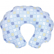 Leachco - Cuddle-U Nursing Pillow Replacement Cover, Blue Squares