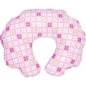 Leachco - Cuddle-U Nursing Pillow Replacement Cover, Pink Squares