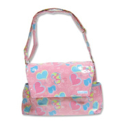 Trend Lab Groovy Love Messenger Nappy Bag