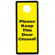 Parent Units Garage and Basement Door Safety Sign