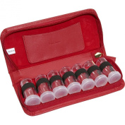 Budd Leather Leather 7 Vial Pill Case