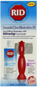 Rid Lice Killing Shampoo With Lice Comb Lice Elimination Kit, 180ml
