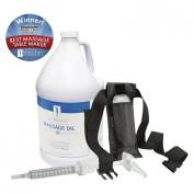 Master Massage Unscented Massage Oil Gallon Kit