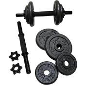 Gold's Gym 18kg Adjustable Dumbbell Set