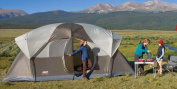 Coleman Weathermaster 10-Person Cabin Tent, 5.2m x 2.7m