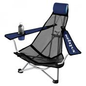 Kelsyus Mesh Backpack Chair - Blue/Grey