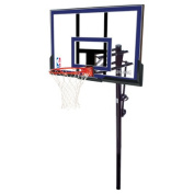 Spalding 127cm In-Ground Basketball System with Acrylic Backboard