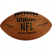 Wilson Football, NFL, Ultimate Composite, Official Size, 1 football