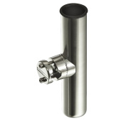 Clamp-On Rod Holder, Stainless Steel