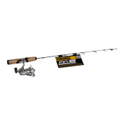 Frabill 68.6cm Straight-Line Ice Rod and Reel Combo Quick Tip