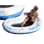Rave Sport Water O-Zone Oasis Lounge 2-Person Bouncer, Blue
