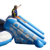 Rave Sport Water O-Zone 1-Child Slide Bouncer, Blue