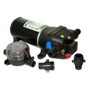 FLOJET 12V 40 PSI HEAVY DUTY WATER PRESSURE PUMP 4.5 GPM 04325143A
