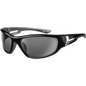 Ryders Eyewear Cypress Black Frame Sunglasses, Grey Lens