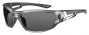 Ryders Eyewear Cypress Clear Frame Sunglasses, Grey Lens