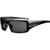 Ryders Eyewear Trapper Black Frame Sunglasses, Grey Lens
