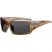 Ryders Eyewear Trapper Polarised Frame Sunglasses, Brown Lens