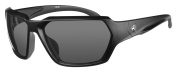 Ryders Eyewear Face Photochromatic Polarised Black Frame Sunglasses, Grey Lens