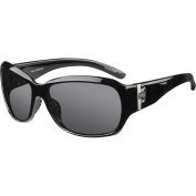 Ryders Eyewear Akira Polarised Black Frame Sunglasses, Grey Lens
